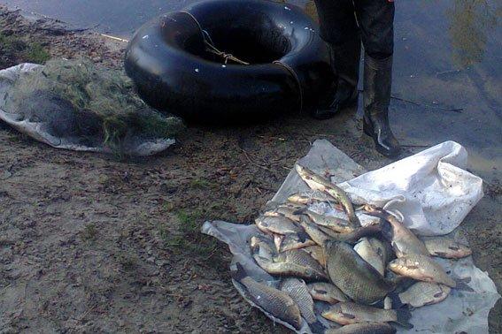 На Днепродзержинском водохранилище поймали браконьеров (фото) - фото 1
