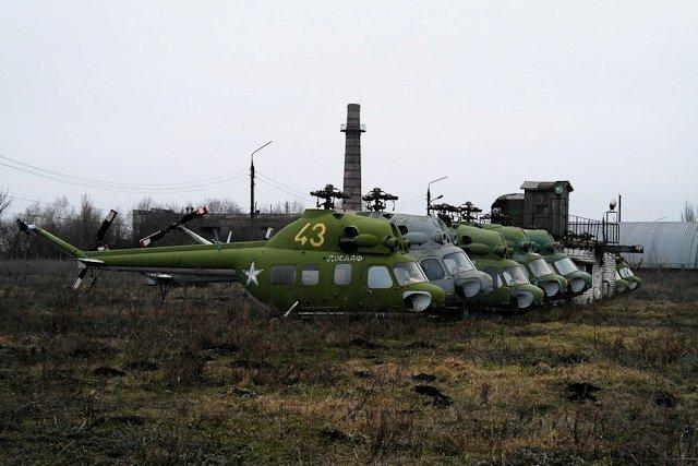 Зона отчуждения: Мертвый военный городок и кладбище самолетов под Днепропетровском (ФОТО) (фото) - фото 35