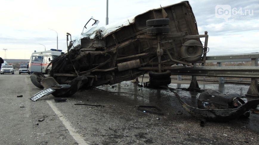 Двоих пострадавших в аварии на новом мосту в Балаково перевели на лечение в Вольск (ФОТО) (фото) - фото 3