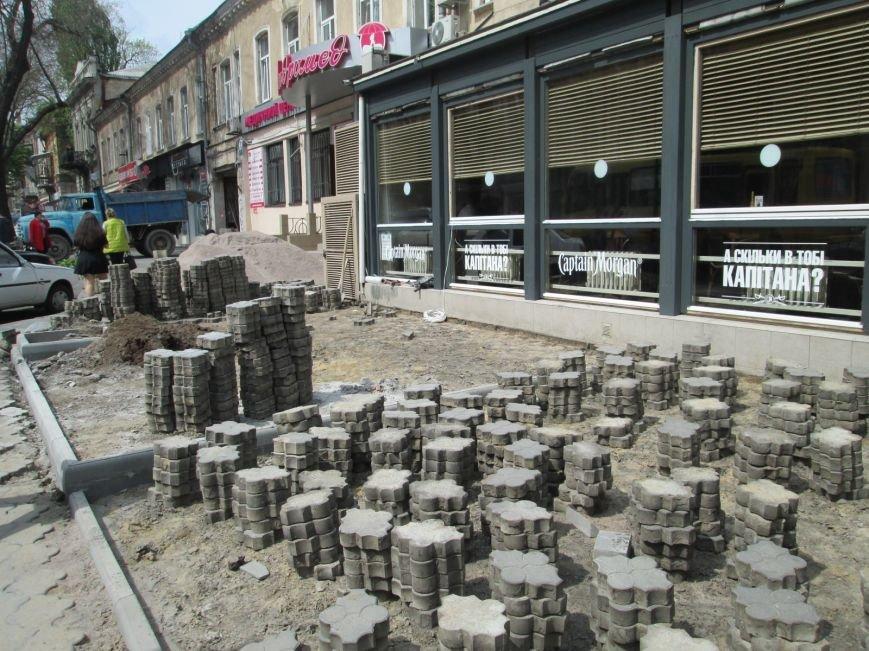 4b31b07e028784ecfb1f15c44f295816 В центре Одессы ресторан лишил пешеходов тротуара