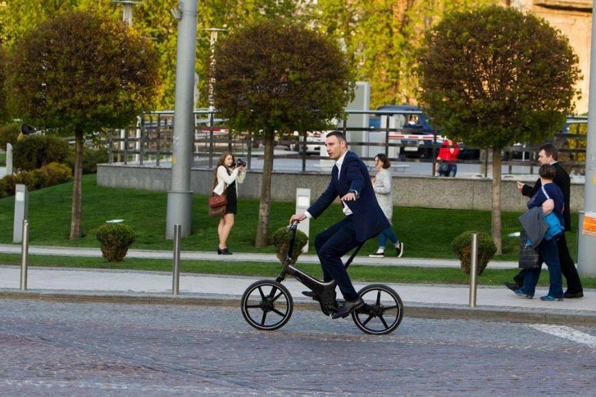 Кличко решил ездить на работу на велосипеде (ФОТО), фото-4