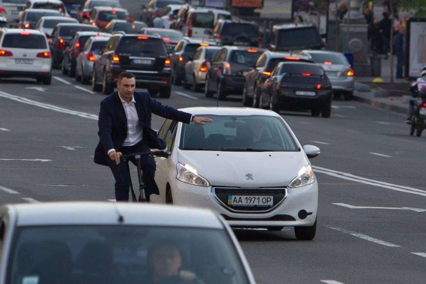 Кличко решил ездить на работу на велосипеде (ФОТО), фото-2