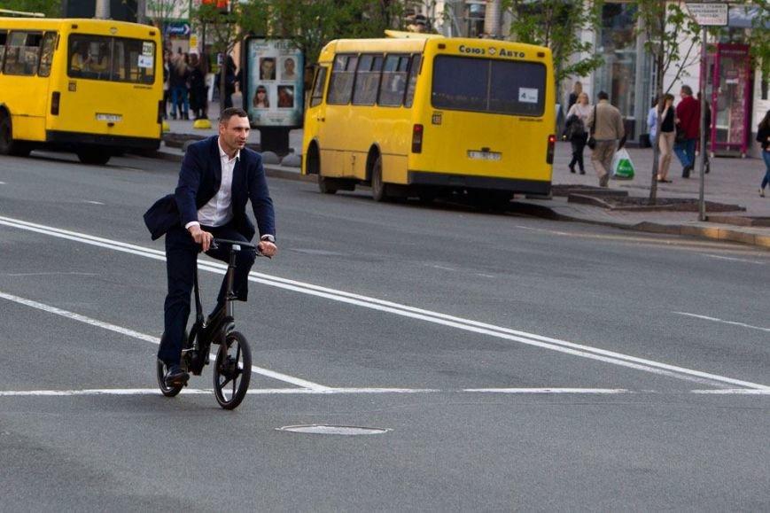 Кличко решил ездить на работу на велосипеде (ФОТО), фото-3