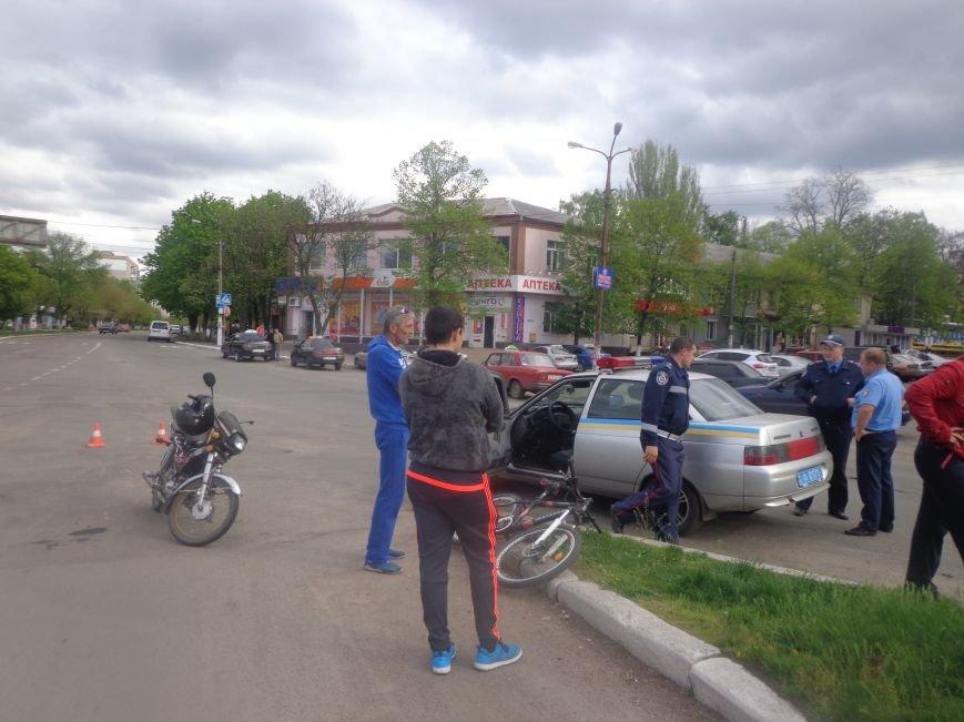 В Первомайске произошло ДТП, пострадал ребенок (фото) - фото 1