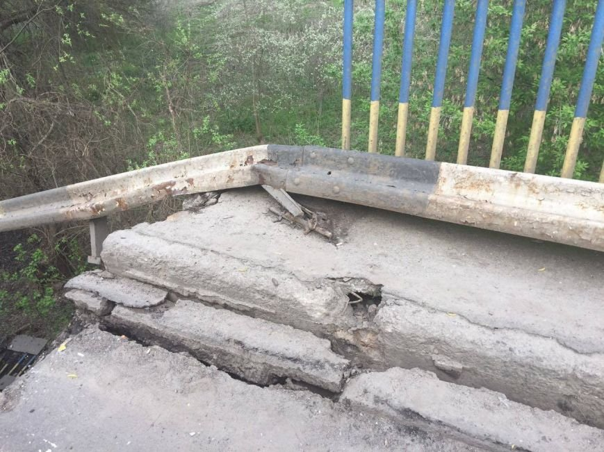 На трассе Сумы-Киев рухнул мост (ФОТО), фото-3