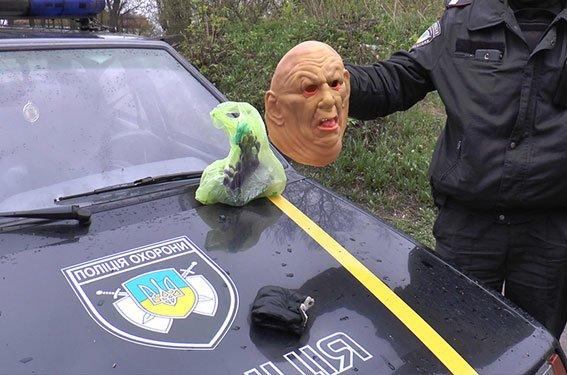В Сумах задержали воров  в масках (ФОТО) (фото) - фото 1