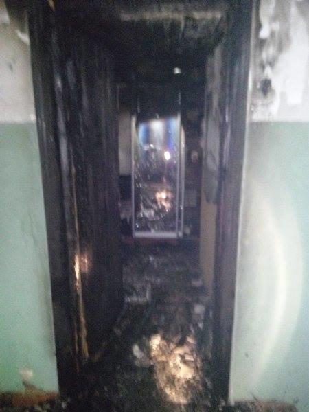 В Пуще-Водице из-за пожара в доме эвакуировали 36 жильцов (ФОТО), фото-1