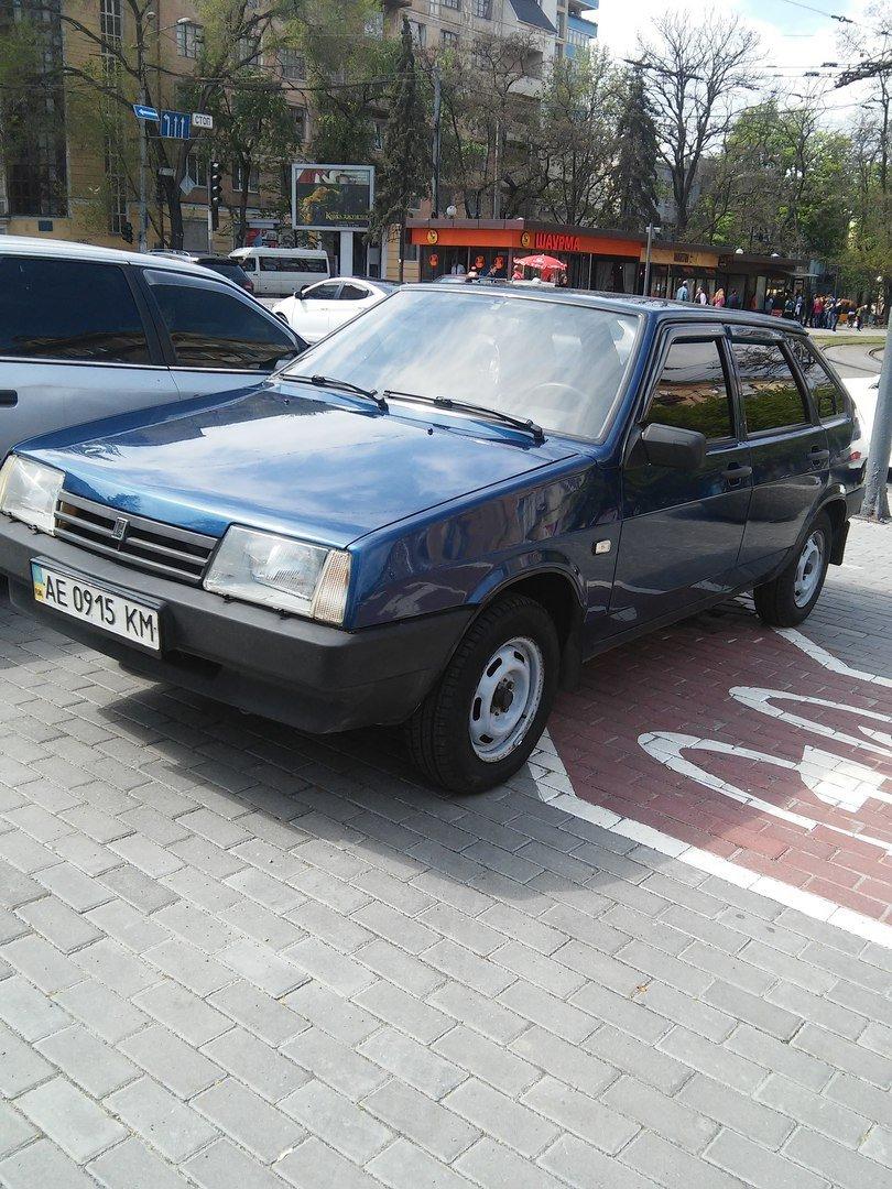 Днепропетровские водители не отличают парковки от велодорожек (ФОТОФАКТ) (фото) - фото 5