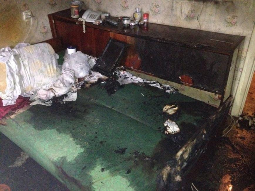 В Киеве во время пожара спасли старушку-инвалида (ФОТО), фото-1