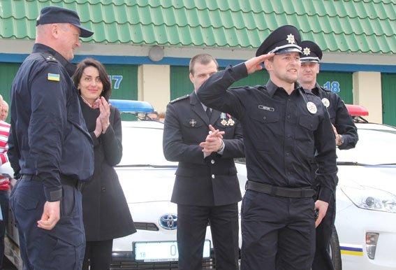 У Рівному  Хатія Деканоідзе відкрила офіс патрульної поліції (фото) - фото 2
