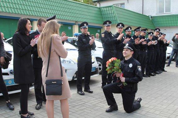 У Рівному  Хатія Деканоідзе відкрила офіс патрульної поліції (фото) - фото 5