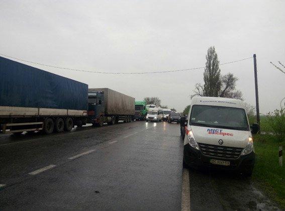 Протестующие жители Николаевщины требуют вернуть им для пастбищ отданные