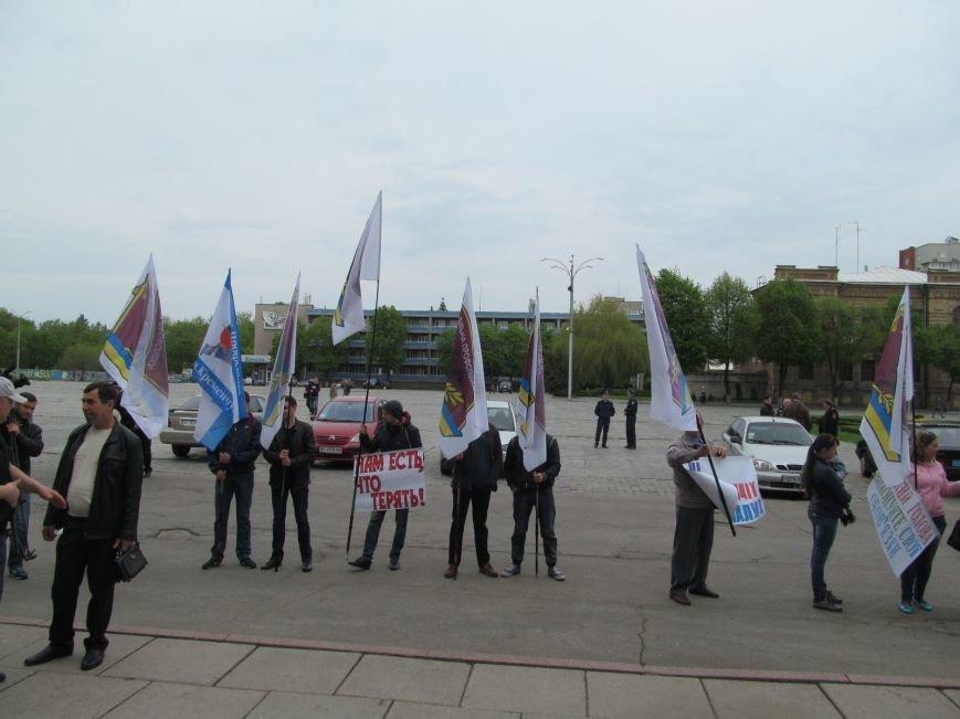 Сегодня Свободный профсоюз Кременчуга прибыл под стены мэрии со списком требований (фото и видео), фото-10