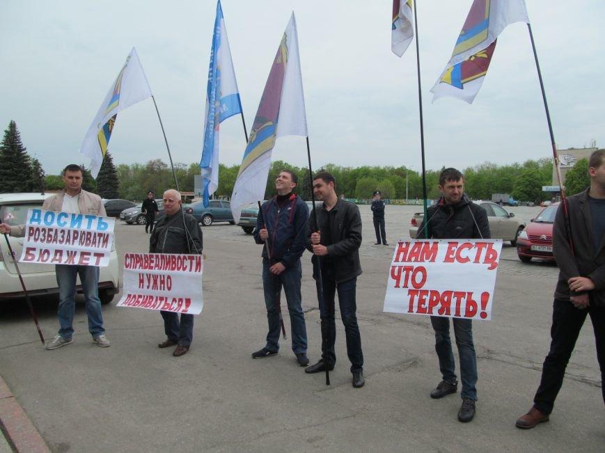 Сегодня Свободный профсоюз Кременчуга прибыл под стены мэрии со списком требований (фото и видео), фото-5