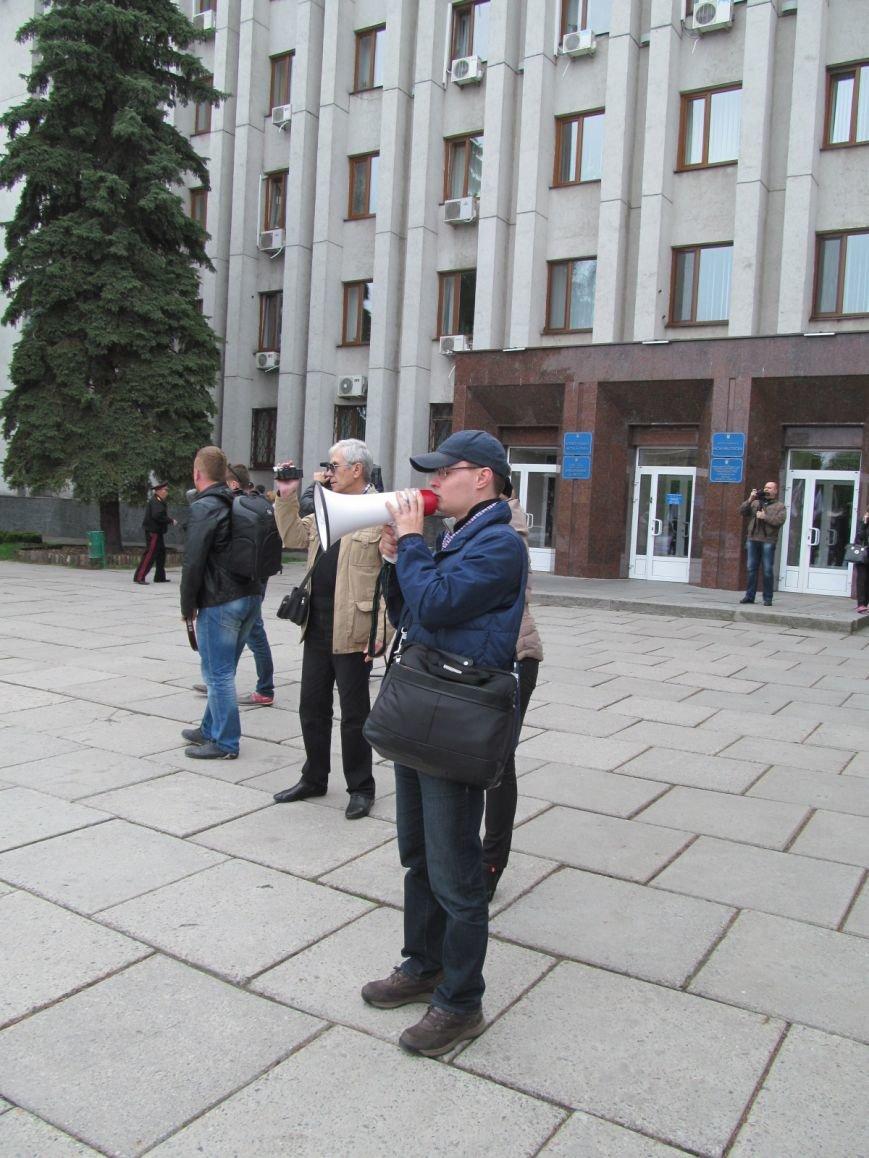 Сегодня Свободный профсоюз Кременчуга прибыл под стены мэрии со списком требований (фото и видео), фото-11