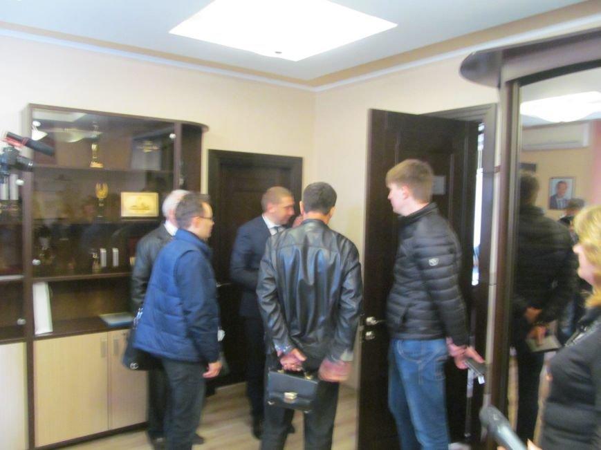 Сегодня Свободный профсоюз Кременчуга прибыл под стены мэрии со списком требований (фото и видео), фото-16