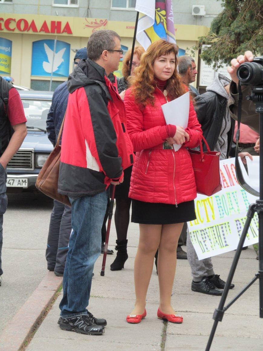 Сегодня Свободный профсоюз Кременчуга прибыл под стены мэрии со списком требований (фото и видео), фото-6