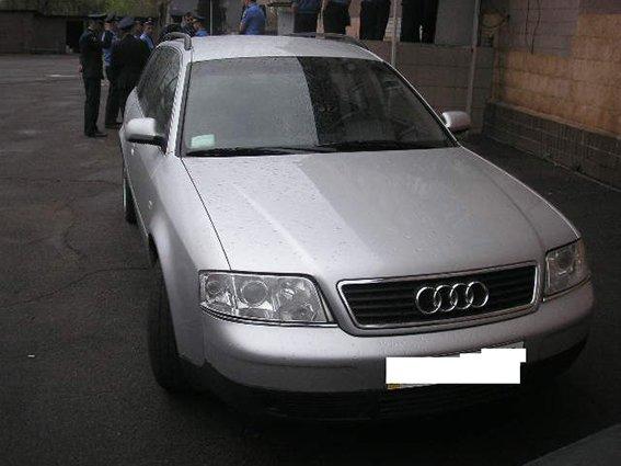 В Кривом Роге задержан автомобиль с