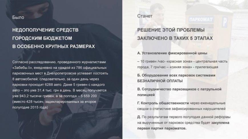 В Днепропетровске появится парковка мечты: презентация, фото-5