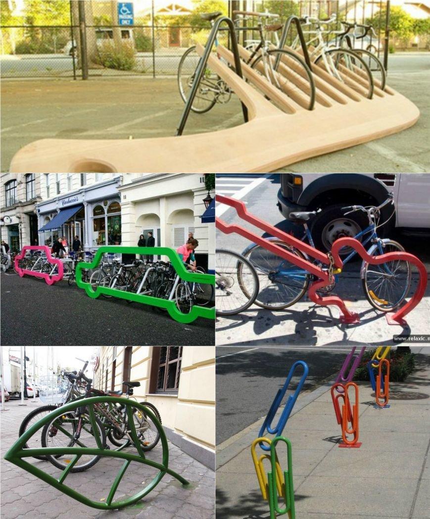 Хмельницькі велоактивісти та влада оголосили конкурс на найкреативнішу велопарковку (Фото) (фото) - фото 1