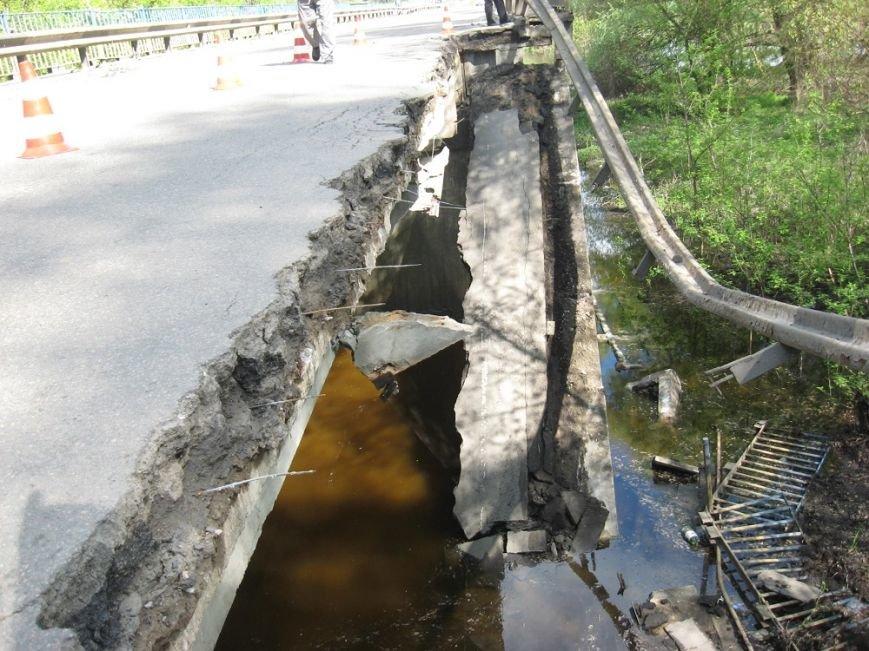 На Полтавщине обрушился мост через Сулу. Водителей просят воздержаться от движения по трассе Р-60, фото-2
