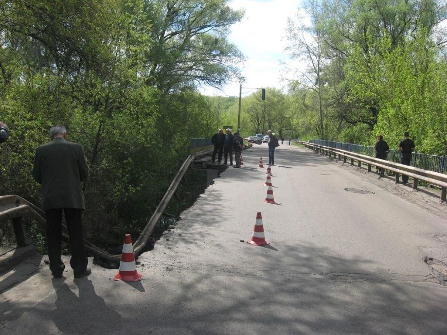 На Полтавщине обрушился мост через Сулу. Водителей просят воздержаться от движения по трассе Р-60, фото-1