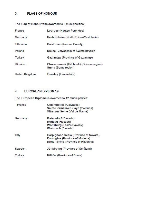 """Черноморск получил """"Почётный Флаг"""", награда вручаемая Парламентской Ассамблеей Совета Европы, фото-2"""