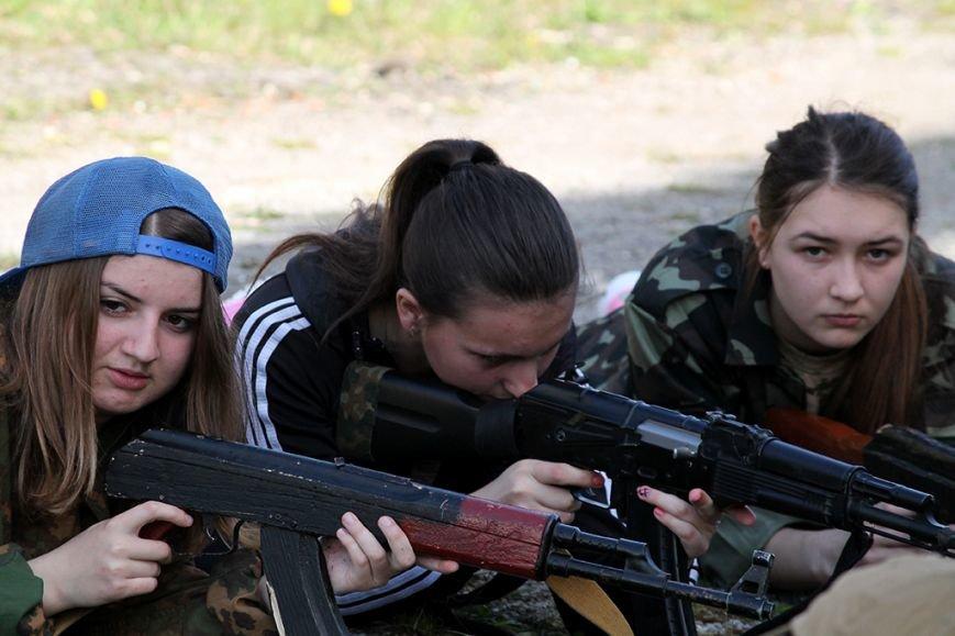 У збаразькій промзоні «захоплювали заручників» та «супроводжували місію ОБСЄ» (фоторепортаж), фото-3