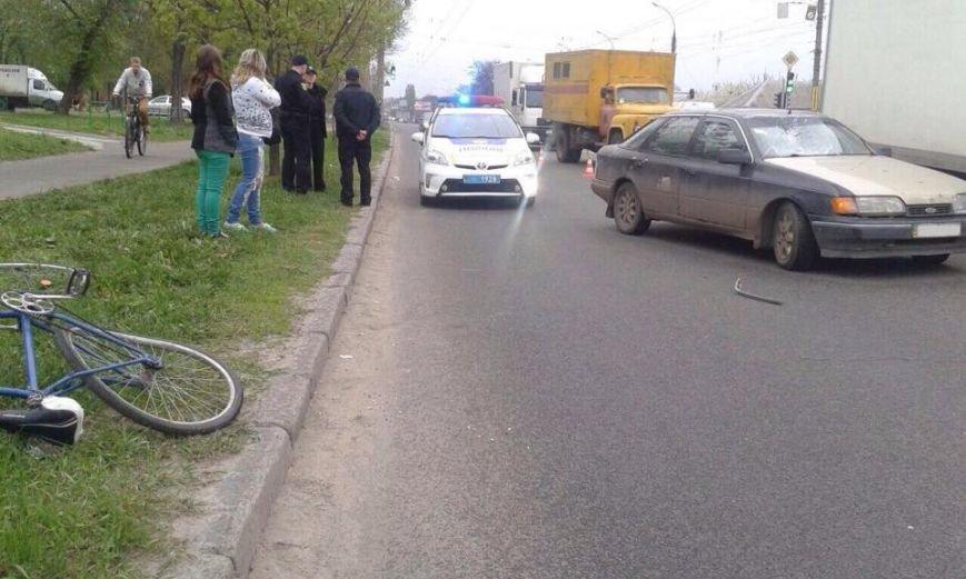 В Харькове велосипедист-подросток попал под колеса иномарки (фото) - фото 2