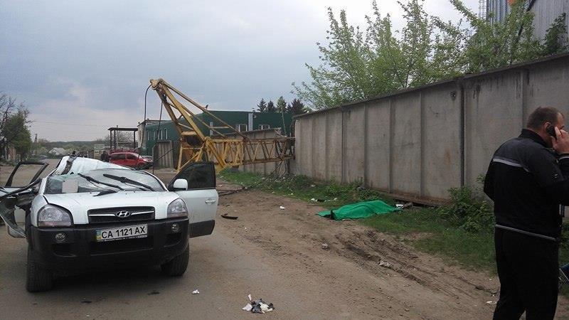 На Черкащині будівельний кран позбавив жінку життя (ФОТО), фото-1