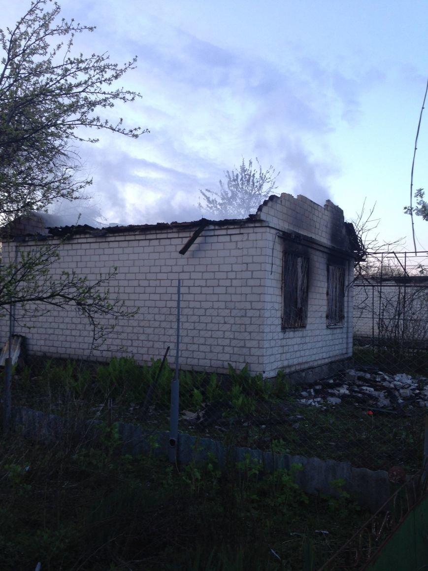 Под Кременчугом пожар полностью уничтожил дачу кременчужанки (ФОТО), фото-1