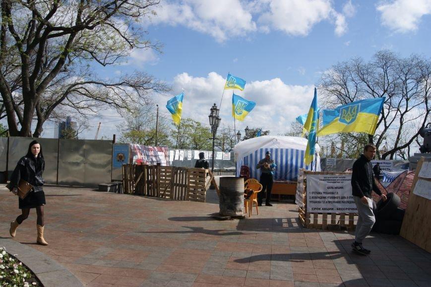 Одесский майдан пополнился предпринимателями и стал более требовательным (ФОТО, ВИДЕО) (фото) - фото 1