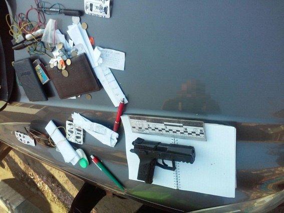 В Ужгороді у студента знайшли зброю і наркотики (фото) - фото 1