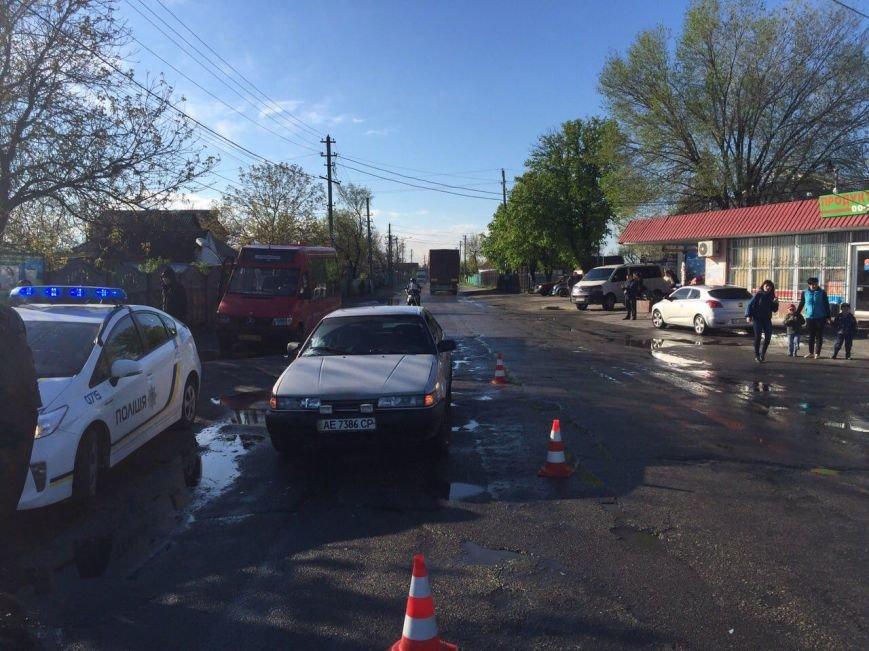 ДТП на Передовой: водитель на Mazda сбил женщину (ФОТО), фото-1