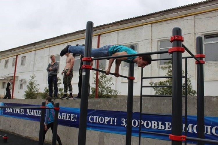 «Стрит-воркаут» в Анапе (фото) - фото 2