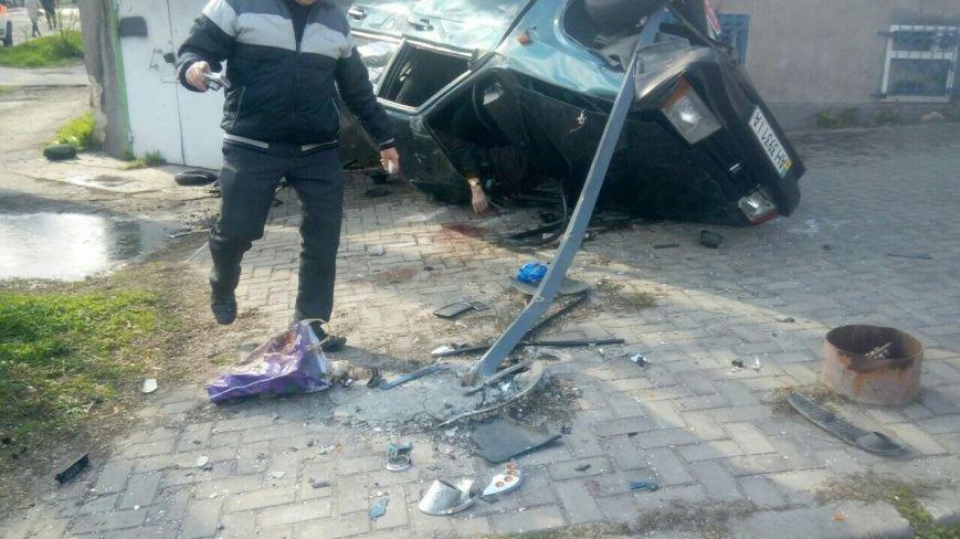 Страшное ДТП в центре Мариуполя. Двое человек погибли, пятеро - травмированы (ПЕРВЫЕ ФОТО с места аварии) (фото) - фото 1