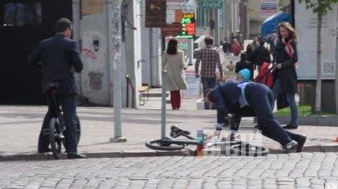 Филатов подколол упавшего с велосипеда мэра Киева Виталия Кличко (ФОТО), фото-2