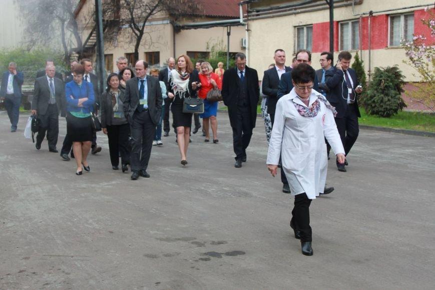 Міжнародна делегація відвідала коньячний завод в Ужгороді (фото) - фото 1