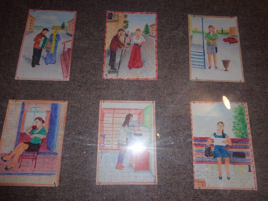 В Красноармейском историческом музее представили художника, запечатлевшего в своих работах «миті життя» (фото) - фото 6