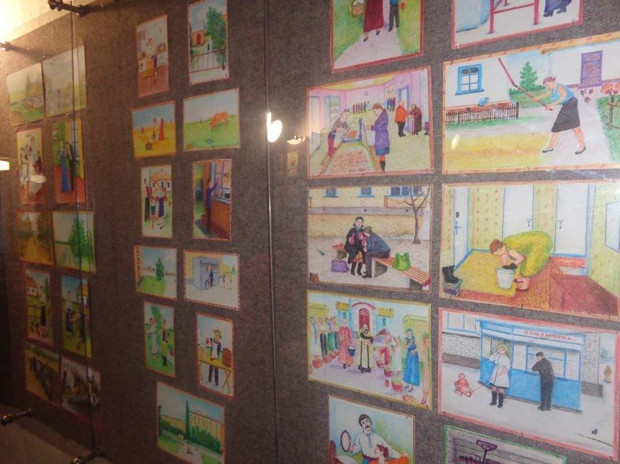 В Красноармейском историческом музее представили художника, запечатлевшего в своих работах «миті життя» (фото) - фото 18