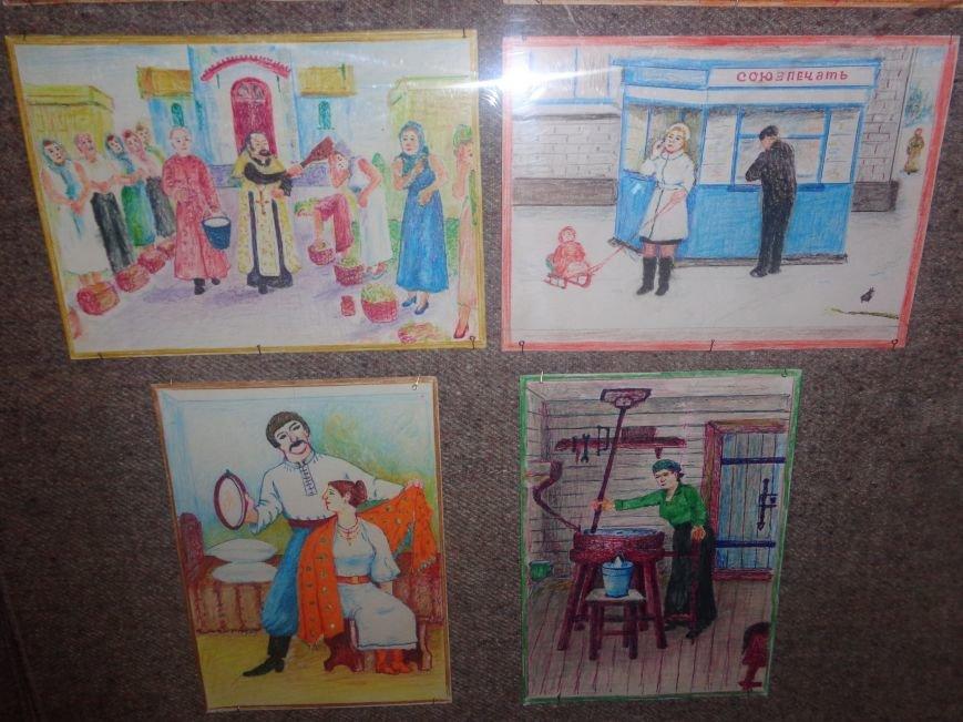 В Красноармейском историческом музее представили художника, запечатлевшего в своих работах «миті життя» (фото) - фото 14