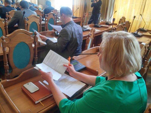 Як сьогодні проходила сесія Львівської міської ради (ФОТО) (фото) - фото 1