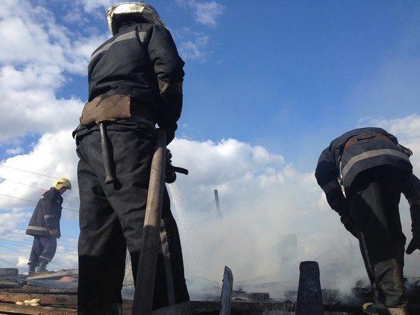 В с. М. Долина сгорел дом (фото) - фото 1