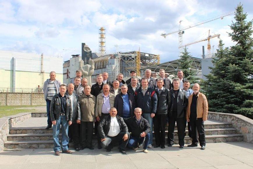 Хмельничани-ліквідатори аварії на ЧАЕС побували у Чорнобилі (Фото), фото-1