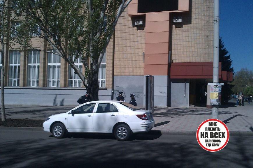 Стопхам по-николаевски : плевать на всех, паркуюсь, где хочу (ФОТО) (фото) - фото 1