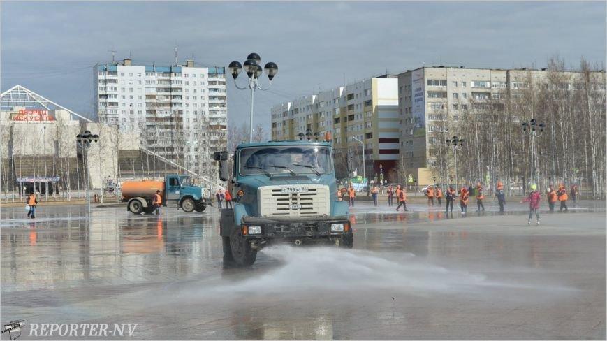 Вартовчане встречают весну на чистых улицах (фото) - фото 1