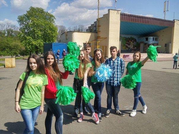 У Парку культури діти організували флеш-моб на підтримку енергозбереження (ФОТО) (фото) - фото 3