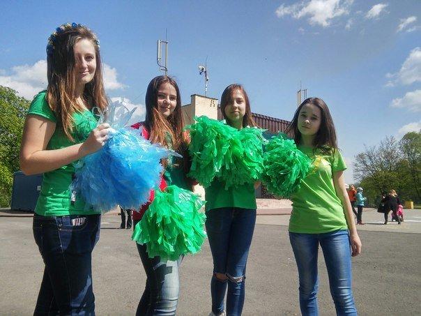 У Парку культури діти організували флеш-моб на підтримку енергозбереження (ФОТО) (фото) - фото 2