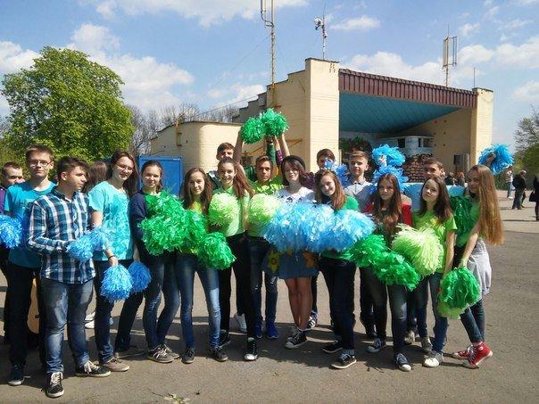 У Парку культури діти організували флеш-моб на підтримку енергозбереження (ФОТО) (фото) - фото 1