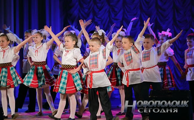 Как Новополоцк превратился в «Танцующий город» ( +фото) (фото) - фото 5